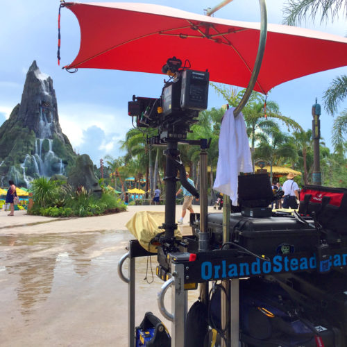 Backstage Cart at Universal Volcano Bay