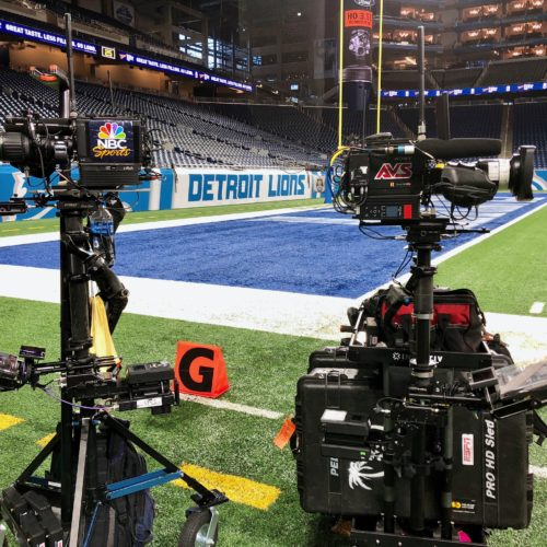Dual PRO XCS CineLive rigs at NFL