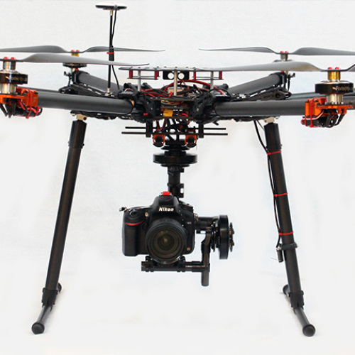 Kraken K13 retractable landing gear for 360 camera panning