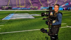 Mike Germond SOC at Super Bowl LII on NBC