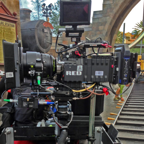 Steadicam with RED Epic