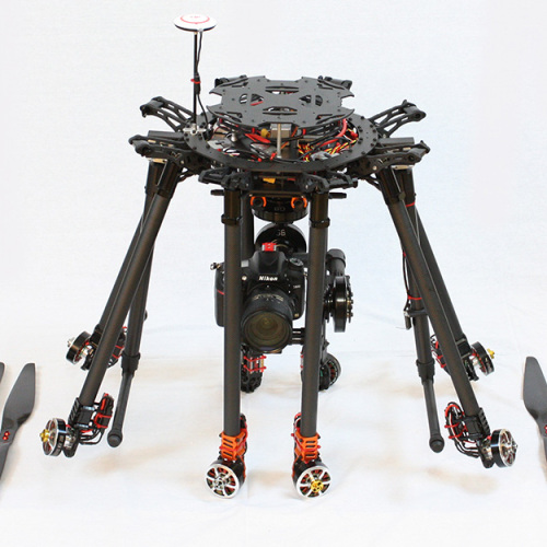 Kraken K130 motor arms foldable for transport