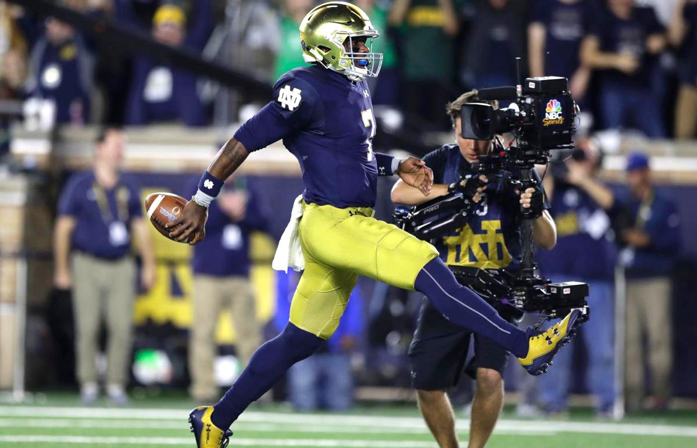 Notre Dame football on NBC - OrlandoSteadicam.com